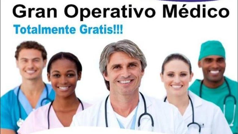 Inicia este proximo Sabado el operativo medico