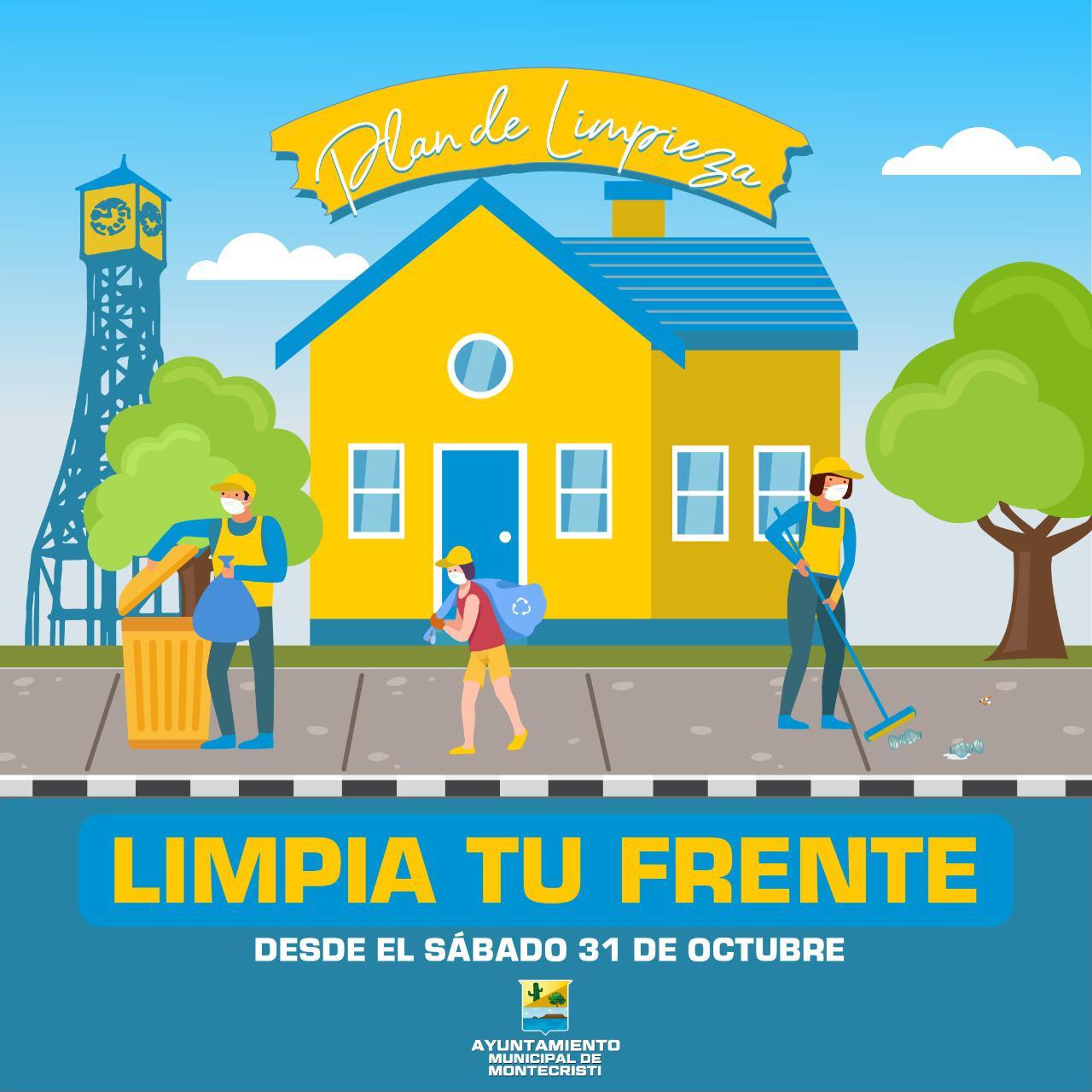 Alcaldía de Montecristi realizará operativo «Limpia Tu Frente»