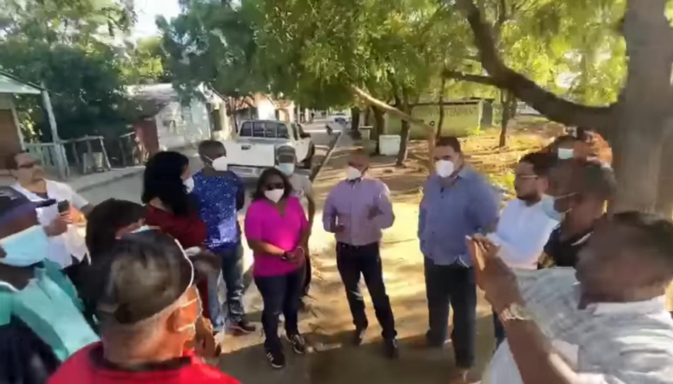 Alcalde Jesús Jerez construirá Parque y Destacamento Policial en Judea Nueva, Montecristi.